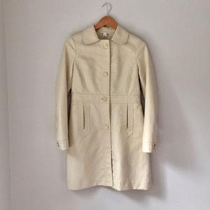 Banana Republic single-breasted khaki trench coat